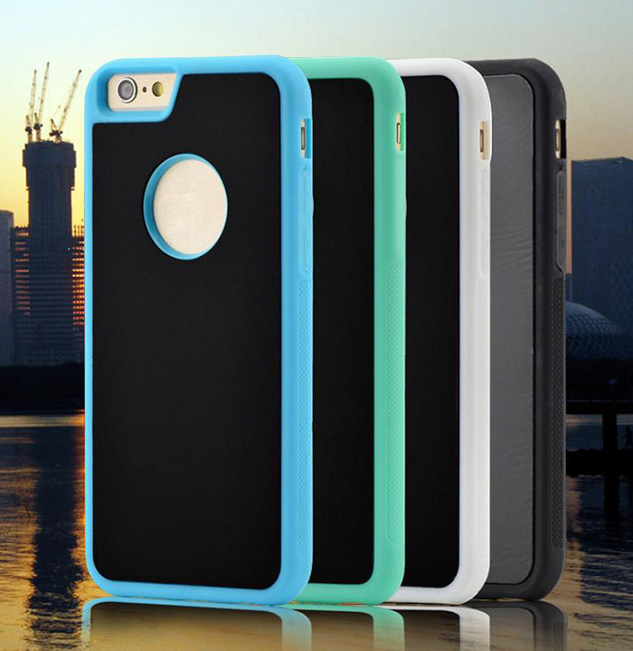 Anti-gravity Nato Adsorption Stickup Phone Case Shell Cover For Iphone 7 Plus