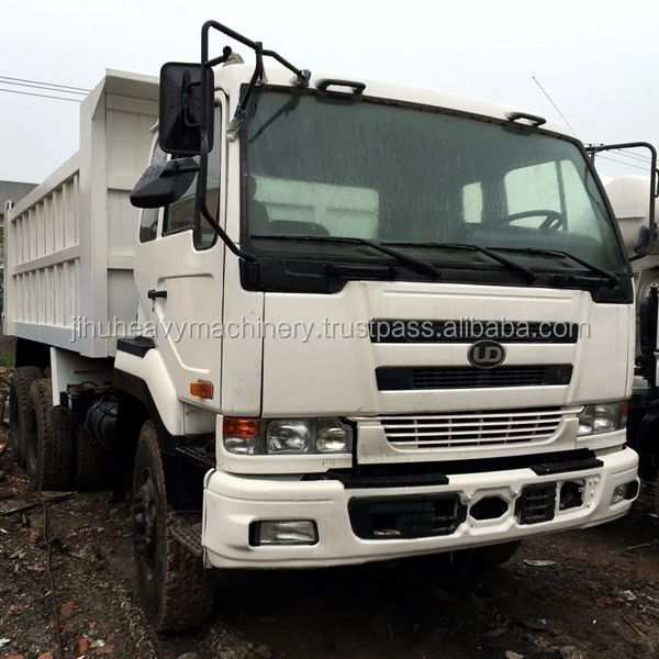 6x4 left hand driving type used Nissan UD dump truck