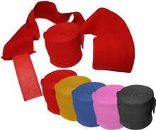 Mexican style boxing hand wraps