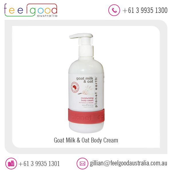 Best Moisturizing Goat Milk and Oat Body Cream Available at Factory Price