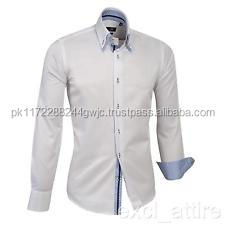 wholesale classical men double collar shirts in mabufacturers price