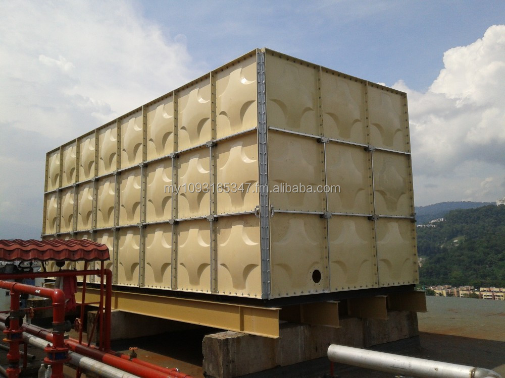 FRP (GRP) SECTIONAL WATER STORAGE TANK