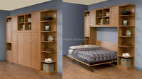 Solid Murphy Bed in Transformable Furniture,HiddenMuphy Bed,Wall Bed