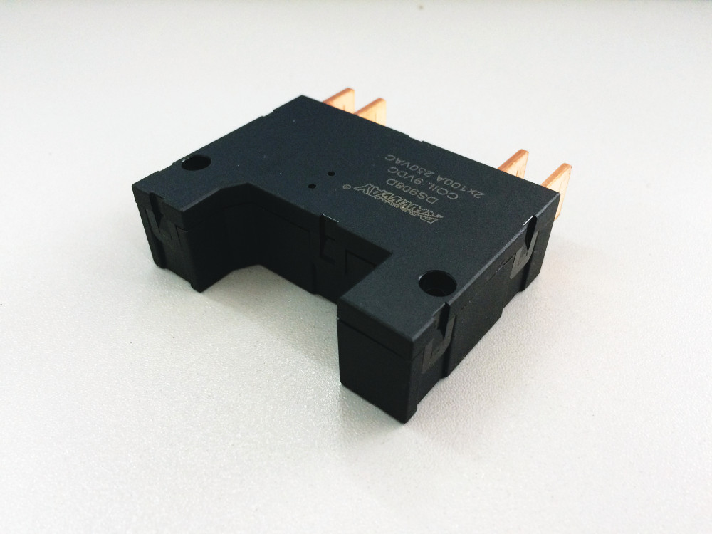 shunt single coil 100A two-phase LLNN connection RAMWAY DS908D electromagnetic latching relay