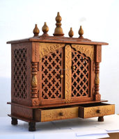 WOODEN POOJA ROOM FURNITURE