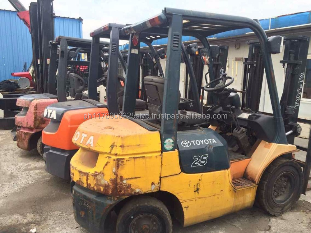 used Toyota 3ton forklift FD30, second-hand toyota forklift 3ton, used lift truck 3 ton, original japan, cheap Price