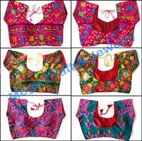 NAVRATRI SPECIAL EMBROIDERED BLOUSE-KUTCHI BLOUSE-WHOLESALE EMBROIDERY BLOUSE