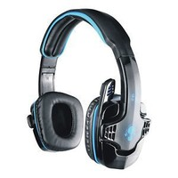 Pro Gaming Stereo Headphones Headset w/ Mic PC Computer KANGLING SA-708