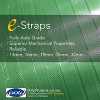 PET Green Strapping 13mm 0.80mm