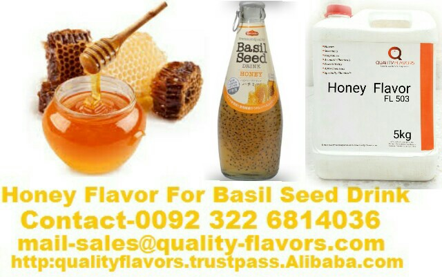 Honey Flavor for Basil seed drink