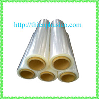 Plastic wrap transparent PE stretch film