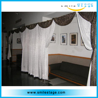 adjustable pole aluminum photo booth pipe and drape