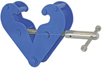 The girder clamp BK is a simple and safe load attachment tool.