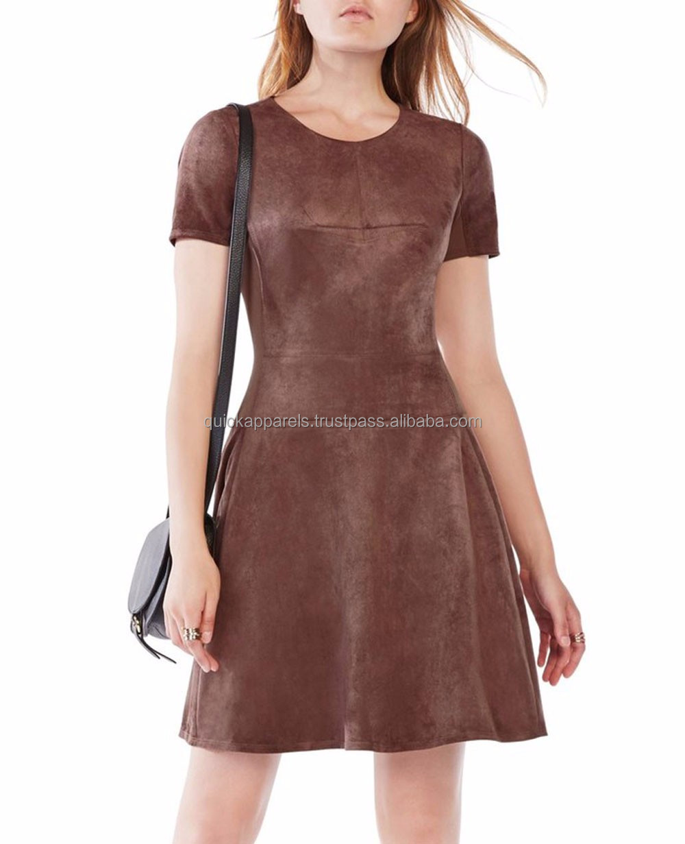 Hot sale mini ladies bondage dress leather,leather dresses for women