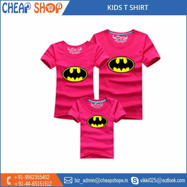 Best Quality Fabric Made Colorful Kids T Shirt Wholesale Supplier