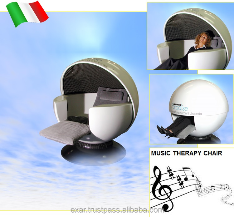 living room chair with music therapy function CE certificated Italy made