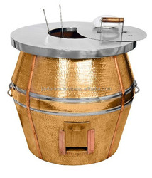 Copper clay tandoor tanki