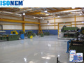 ISONEM EXCELLENT MECHANICAL AND CHEMICAL RESISTANT SELF LEVELLING EPOXY FLOOR COATINT