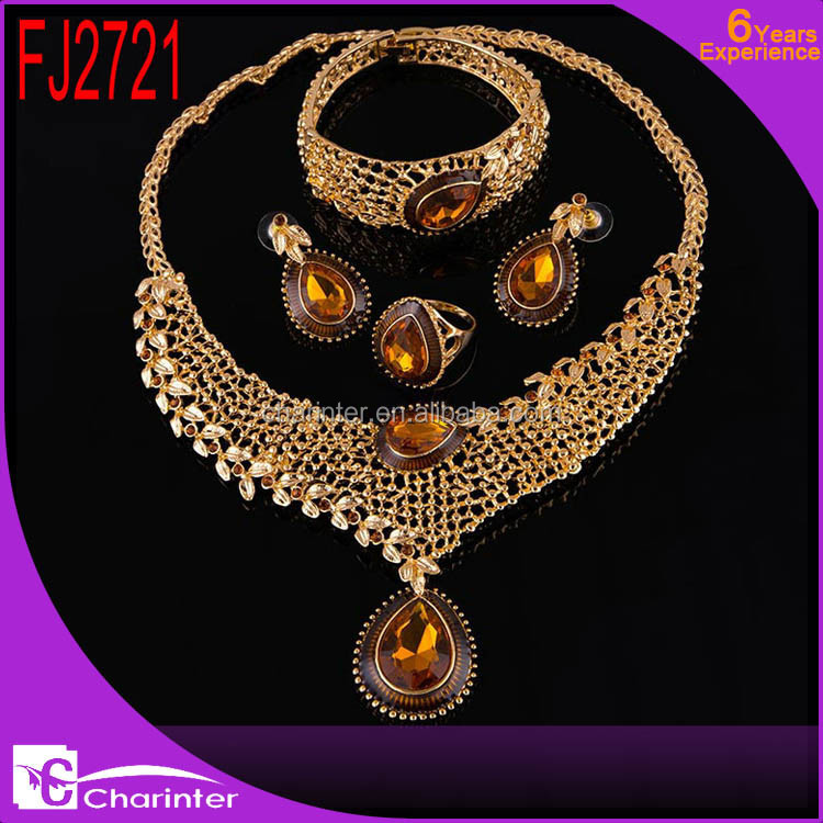 free shipping wholesale jewelry set/african fashion jewelry set/evening jewelry set/gold plated jewelry set FJ2721