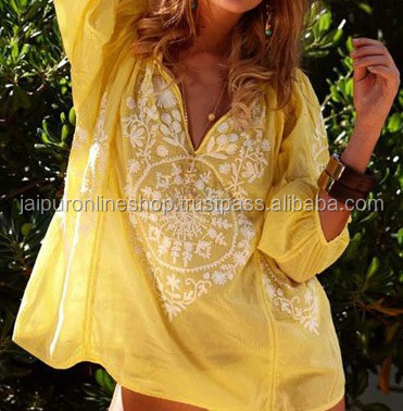 2015 New Tunics - Dresses - Beachwear - Resort Wear - Cover Up Tunics Online Shopping
