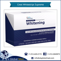 Professionally Dispenced Whitening Formula - Crest Whitestrips Supreme