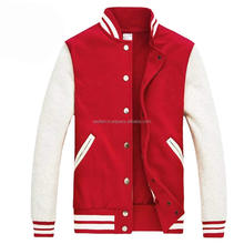 new red and many other color baseball varsity jackets