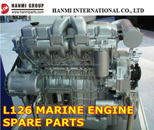 GENUINE DOOSAN DAEWOO MARINE L126 / L126TI / L126TIH / L126TIM ENGINE SPARE PARTS (PISTON, CYLINDER, BEARING, GASKET etc)