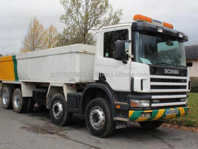 USED TRUCKS - 2003 SCANIA 114 340 TIPPER (RHD 1801239)
