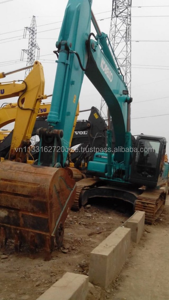 Original Kobelco SK350 used excavator good condition used construction machinery