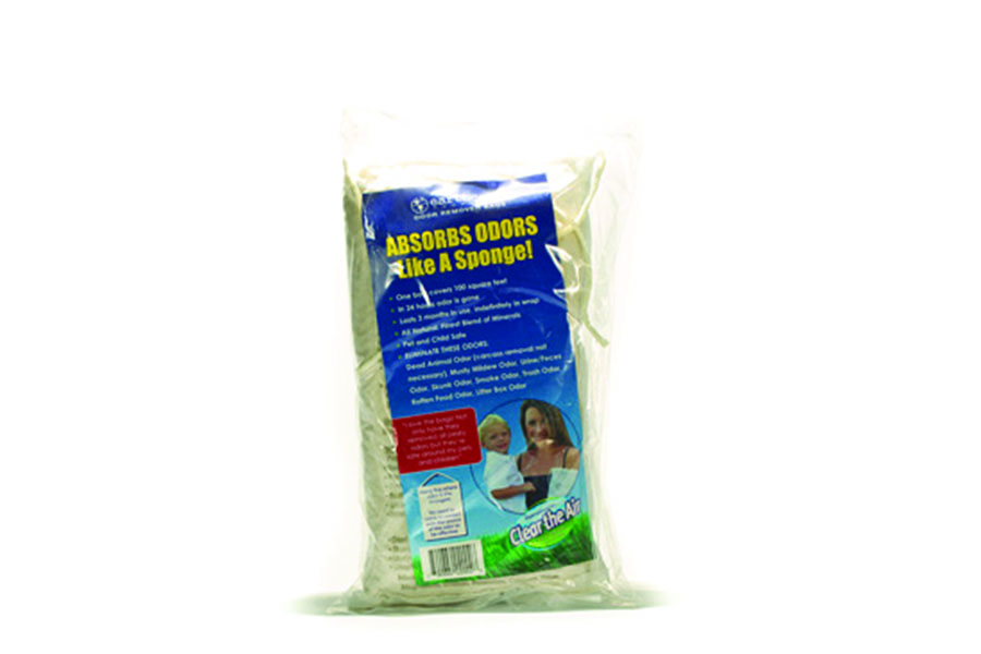 Earth Care Odor Remover Bag, Absorbs and neutralizes odor, remove odor of dead pests, urine and faeces
