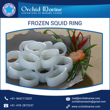 Natural Flavor Calamari Frozen Squid Rings from Best Supplier