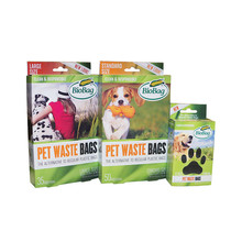 BIO BAG PET WASTE BAGS - Case of 540 Bags