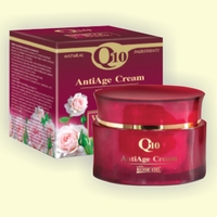 Anti-age cream with coenzyme Q10 and rose oil - 50 ml