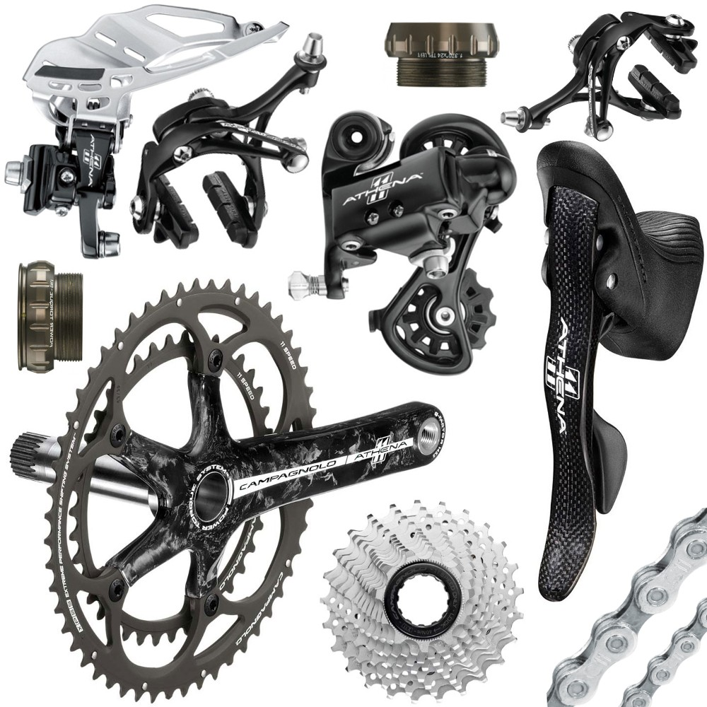 Authentic Campagnolo Athena Carbon Groupset 2017