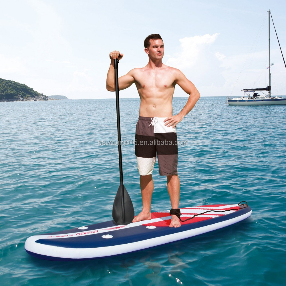 Bestway Hydro-Force 11' Long Tail Inflatable SUP Stand Up Paddleboard/Surfboards Type Sup Paddle