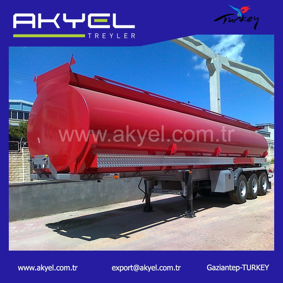 3 Axle oil/ fuel tanker trailer
