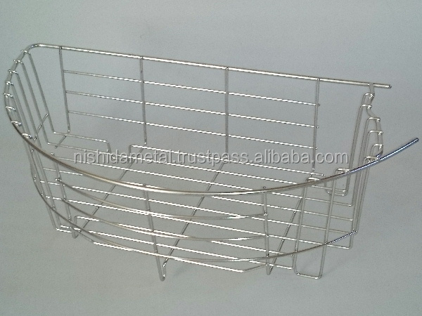 Inoxidizable and Electrolytically-polished wire cage made of stainless-steel made in Japan