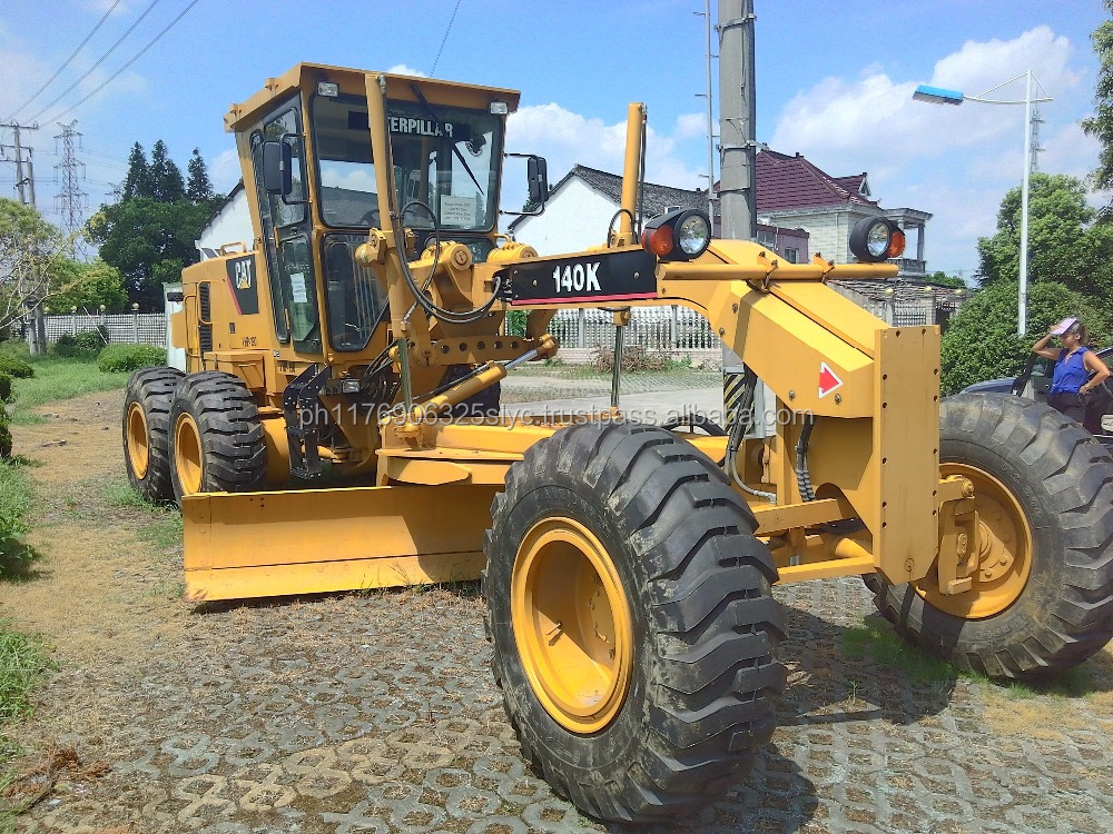 Used Motor Grader cat 140k.it is very good product and we can sell the best price, just to satisfy our customers.