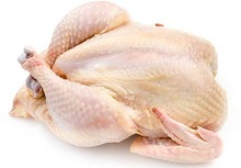 BRAZILIAN Processed Frozen Whole Chicken (Grade A)