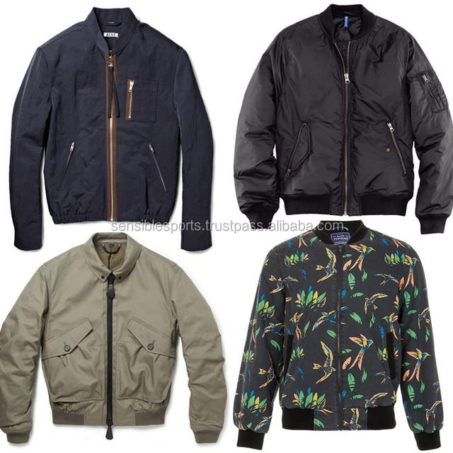 Wholesale Fashion Poly Camouflage Bomber Jacket Varsity Jacket