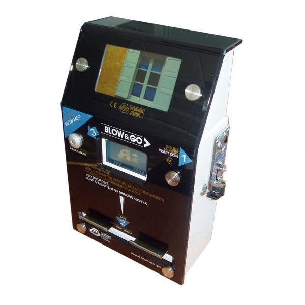 Coin-operated Blow & Go 4800 MULTIMEDIA breathalyzer