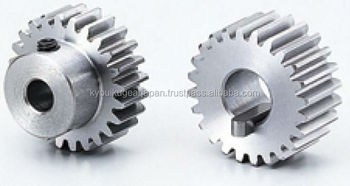 Spur gear Module 2.5 Carbon steel Made in Japan KG STOCK GEARS