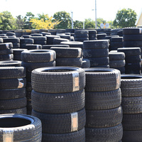 Various types of used off road tire with extensive inventory