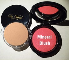 Da Vinci Cosmetics Pressed Mineral Blush -16 colors, Natural Makeup Cosmetics