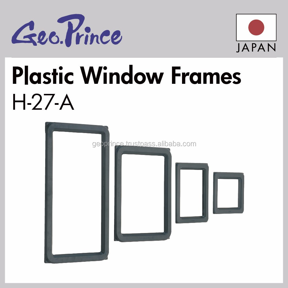 Easy to use window frame for measuring instrument reading box with Reliable made in Japan
