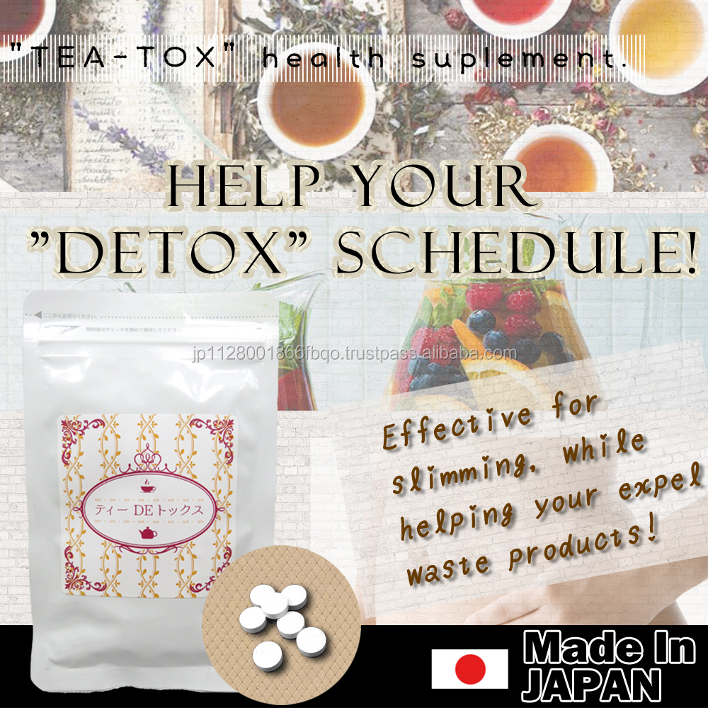 Innovative slimming tea and High-grade tea detox detox patch for weight loss ,small lot order available