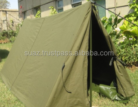 Shelter Half Tent , Small canvas tent