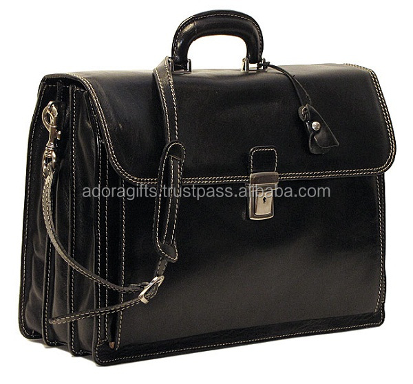 Top Quality Black office bags with provision to keep laptops