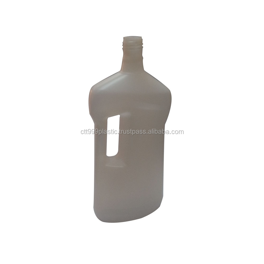 1L / 4L clothes softener detergent plastic bottle / container with cap