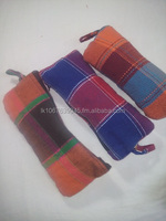 Hand loom pencil cases